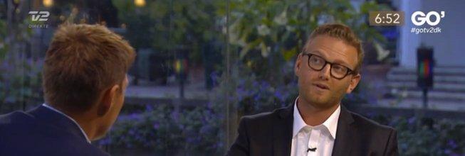 Kristian Koch gæster Go' Morgen Danmark. Få gode jobsamtale råd